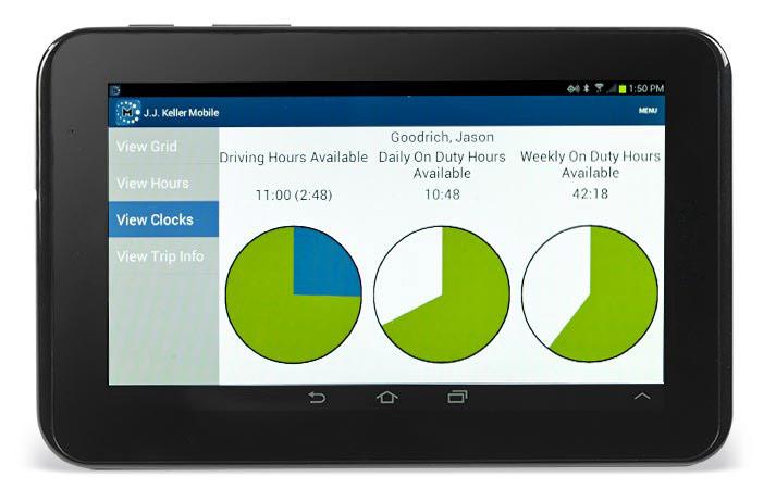 J  J  Keller Compliance Tablet™, J  J  Keller's Encompass®
